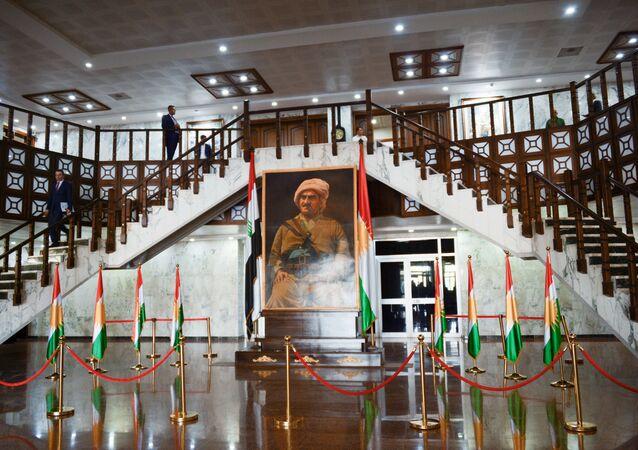 The Iraqi Kurdistan parliament building