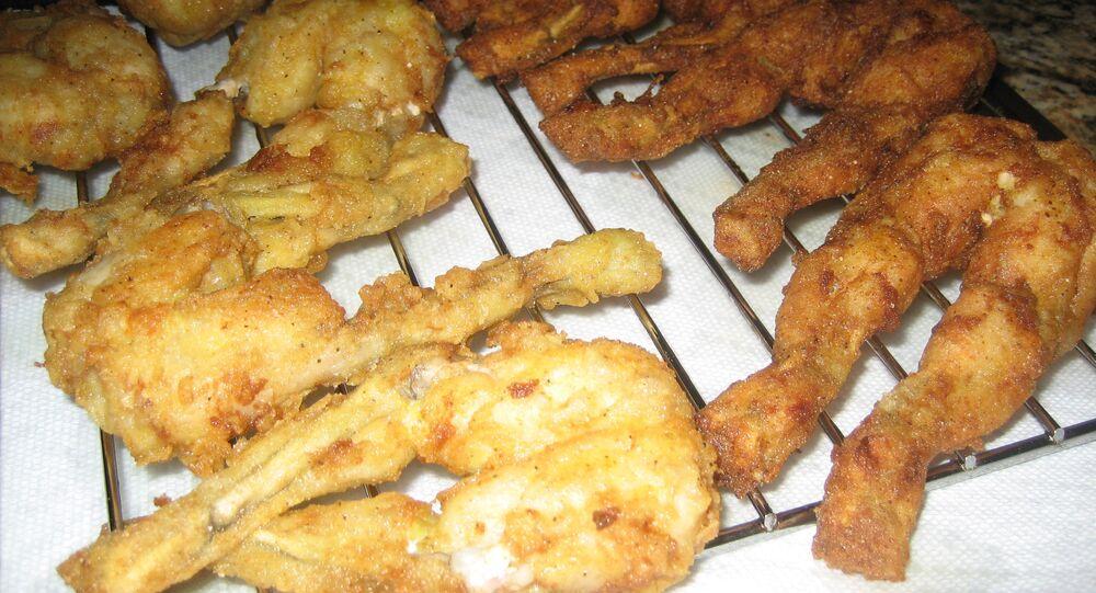 Fried Frog's Legs