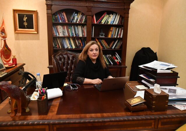 An interview with President of the company Seeds, Dr. Nahed Taher, in Jeddah