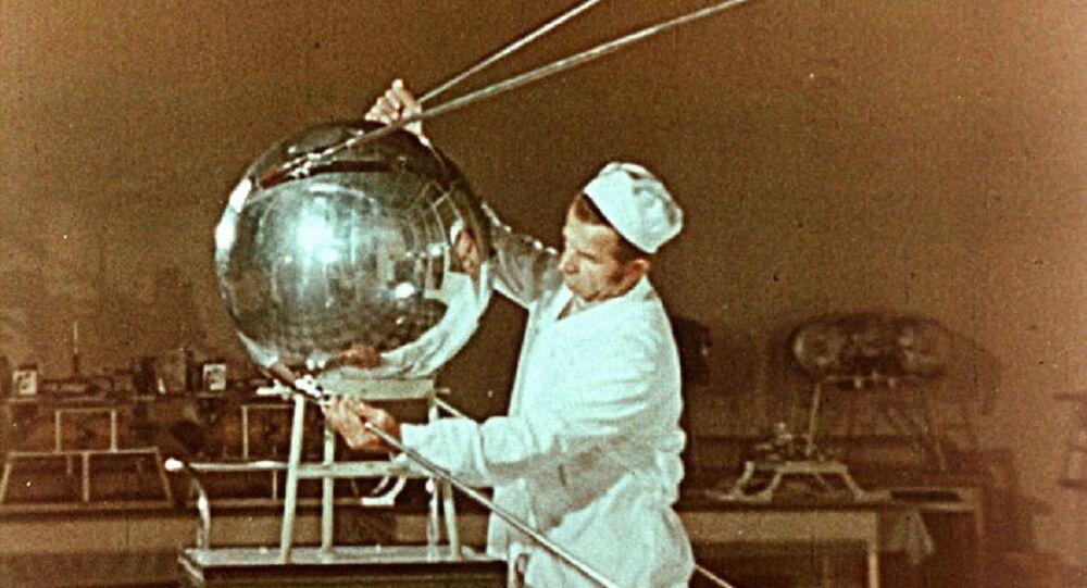 Sputnik-1, Earth's first artificial satellite. (File)