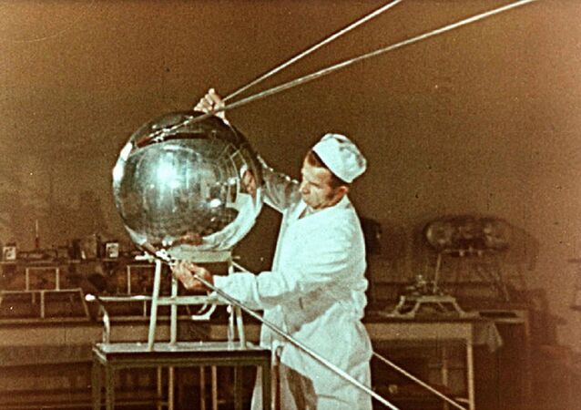 Sputnik-1, Earth's first artificial satellite. (File)