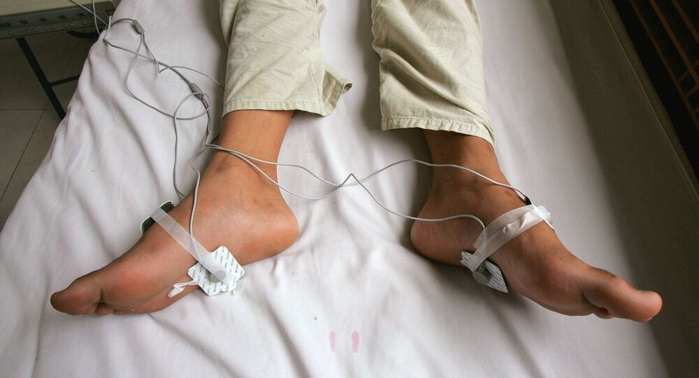 Electric shock treatment. (File)