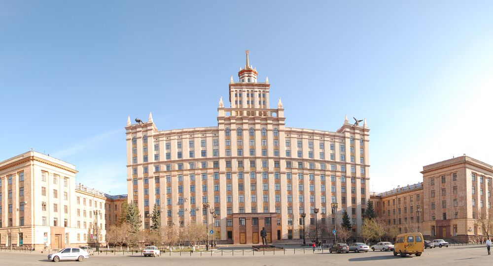 South Ural State University in Chelyabinsk, Russia