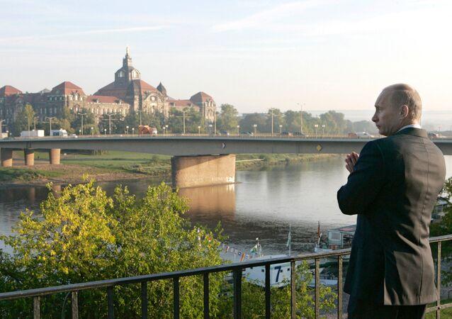 Vladimir Putin in Dresden