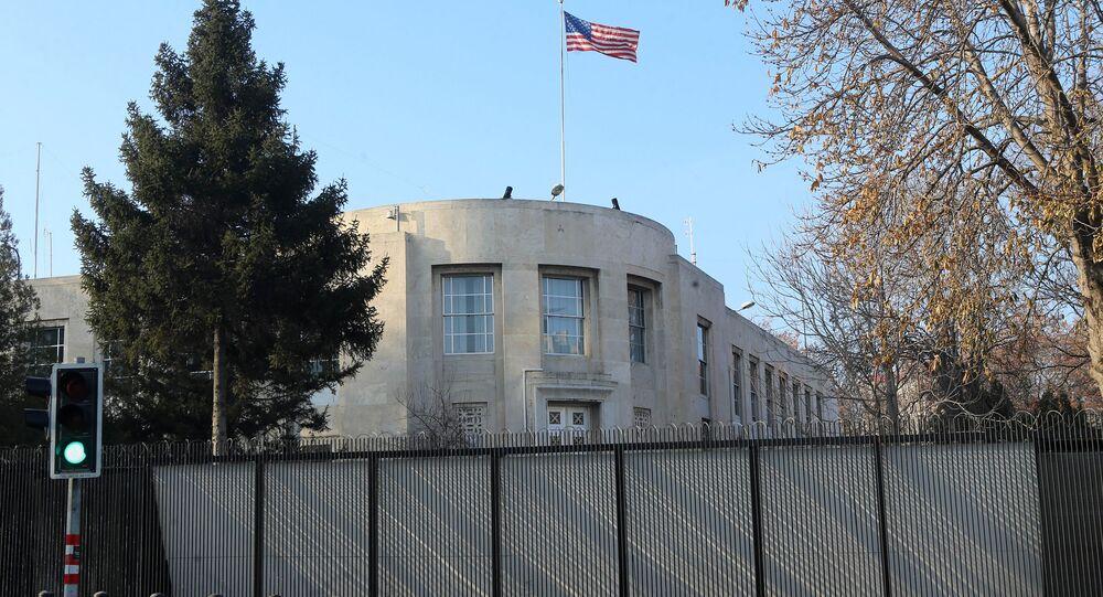 US Embassy in Ankara. (File)