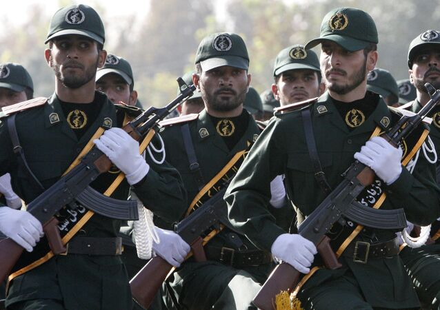 Iranian Revolutionary Guards members