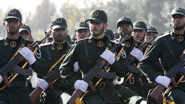 Iranian Revolutionary Guards members - Sputnik International