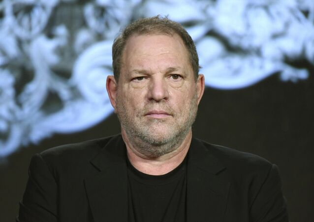Producer Harvey Weinstein participates in the War and Peace panel at the A&E 2016 Winter TCA in Pasadena, Calif. (File)
