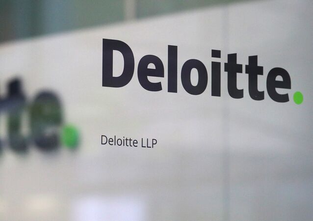 Offices of Deloitte are seen in London, Britain, September 25, 2017