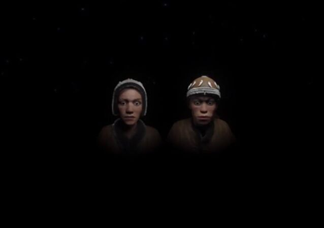 Russia 30000 years ago: Sungir 3D reconstruction of children