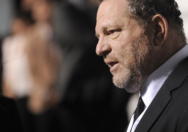 Harvey Weinstein attends The Weinstein Company and Lexus Present Lexus Short Films at the Directors Guild of America Theater on Thursday, Feb. 21, 2013, in Los Angeles
