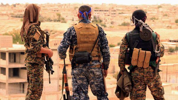 Fighters from the SDF. (File) - Sputnik International