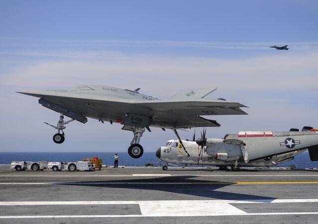 Northrop Grumman's X-47B UCAS