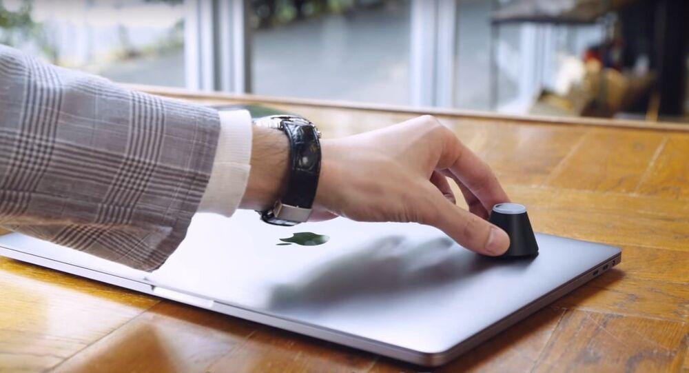 Alarm system for laptops