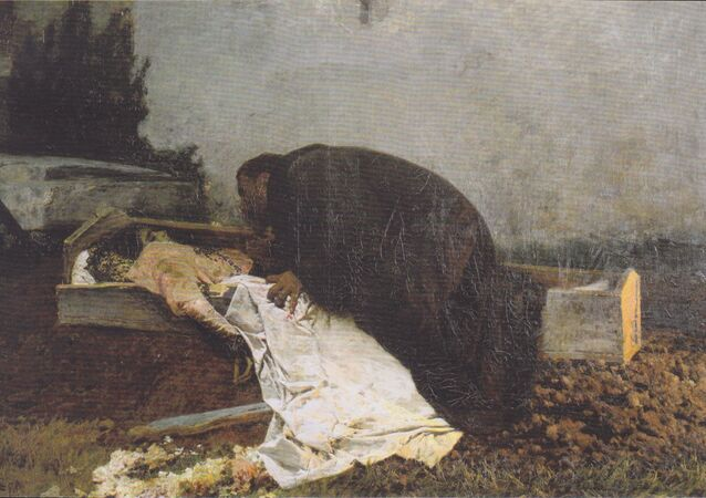 Hatred.  Pietro Pajetta  (1845–1911)