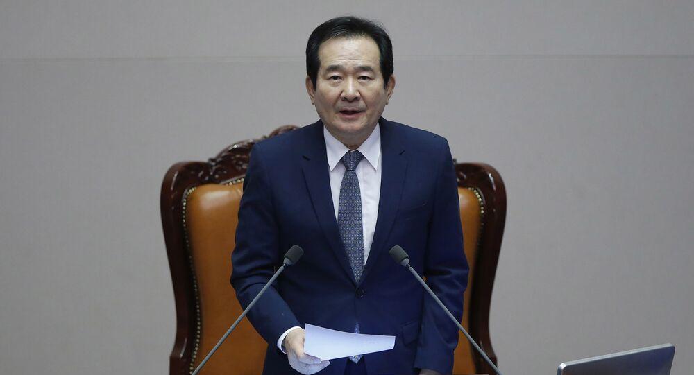 South Korea's Assembly Speaker Chung Sye-kyun (File)