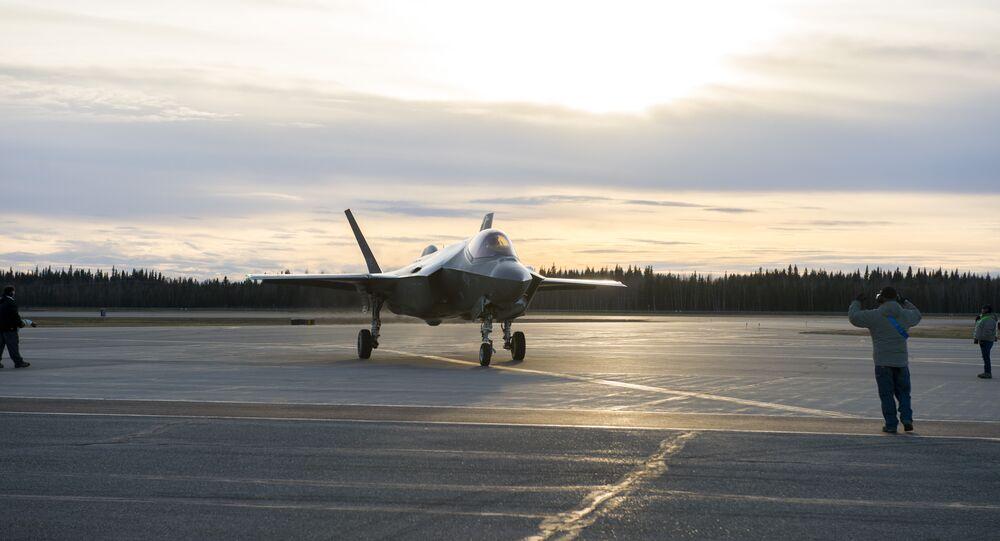 F-35A in Alaska