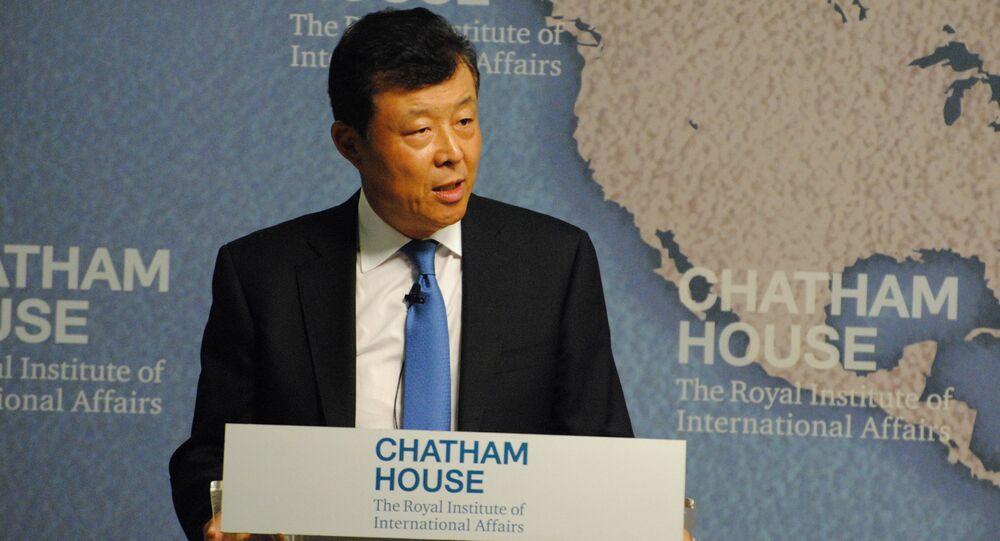 Chinese ambassador to the UK Liu Xiaoming. (File)