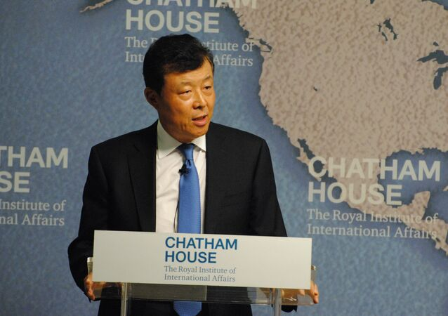 Chinese ambassador to the UK Liu Xiaoming. (File)