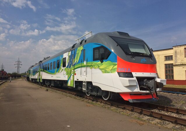The EP2D electric train, released in September 2017