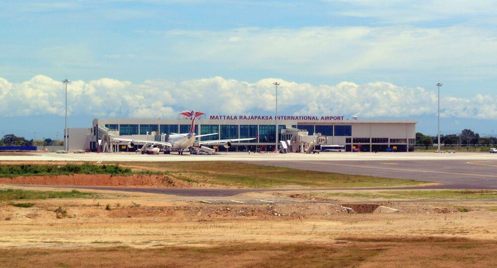 Mattala Rajapaksa International Airport Terminal.