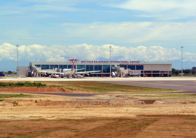 Mattala Rajapaksa International Airport Terminal.