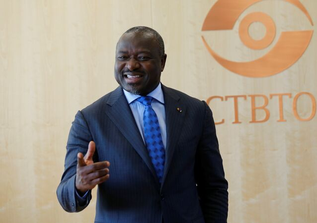Secretary General of the Commission for the Comprehensive Nuclear-Test-Ban Treaty Organization (CTBTO) Lassina Zerbo gestures during an interview with Reuters in Vienna, Austria September 28, 2017