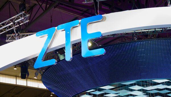 ZTE logo - Sputnik International