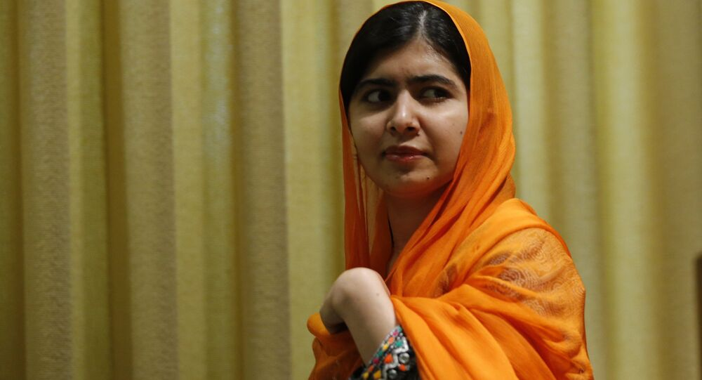 Pakistani Nobel Prize laureate and children's education advocate Malala Yousafzai arrives to address the 72nd United Nations General Assembly at UN headquarters in New York, US, September 20, 2017.
