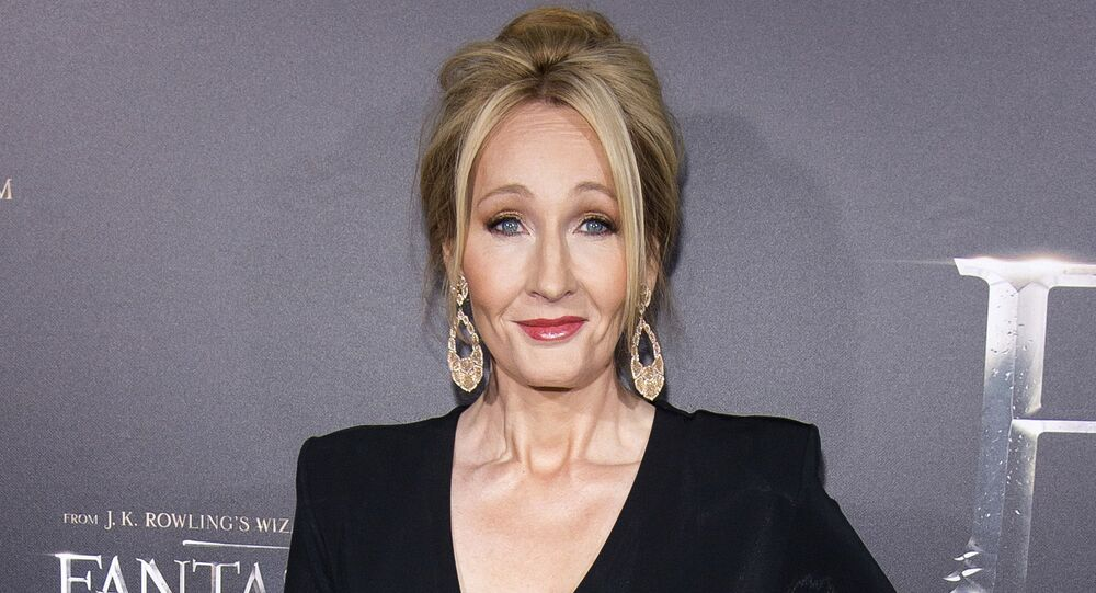 In this Nov. 10, 2016 file photo, J. K. Rowling attends the world premiere of Fantastic Beasts and Where To Find Them in New York.
