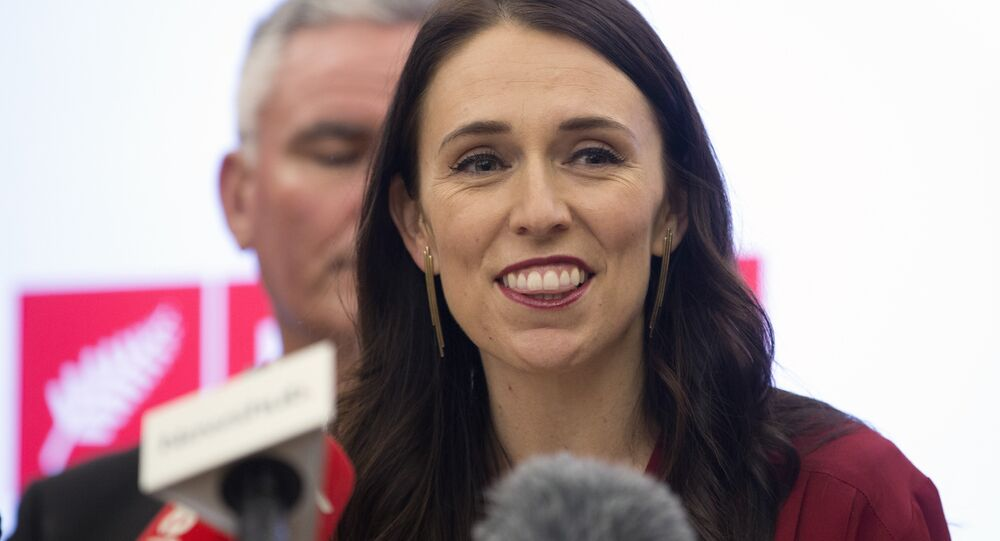 New Zealand Labour Party leader Jacinda Ardern addresses a press conference at Parliament in Wellington, New Zealand, Thursday Oct. 19, 2017.