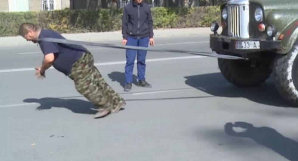 Strongman From Kyrgyzstan