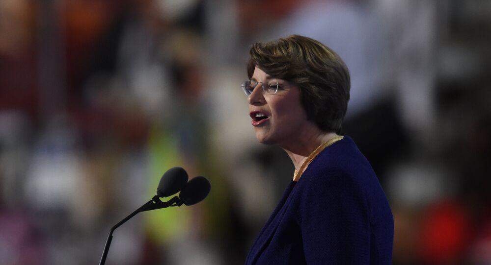 US Senator Amy Klobuchar