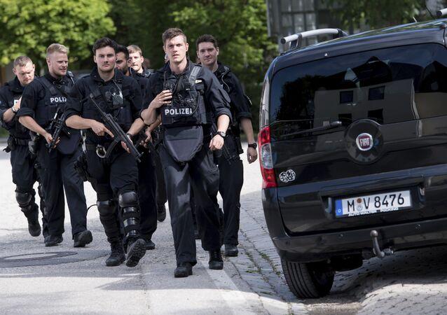 Policemen in Munich, Germany (File)