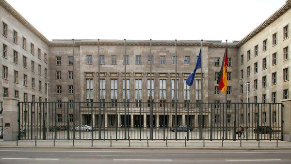 The German finance ministry in Berlin - Sputnik International