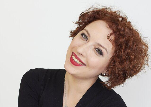 Echo of Moscow journalist Tatyana Felgengauer