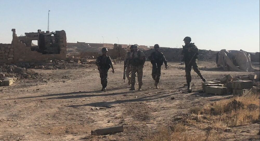 Syrian Army's offensive operation to the east of Deir-ez-Zor. File photo