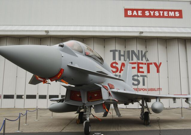 Eurofighter Typhoon at BAE Systems, Warton Aerodrome, near Warton northwest England.