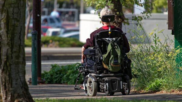 Disabled person - Sputnik International
