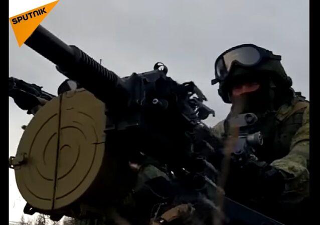 Russia's Spetsnaz Units Hold Drills in Tambov Region