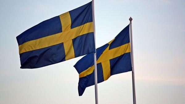 Swedish flags - Sputnik International