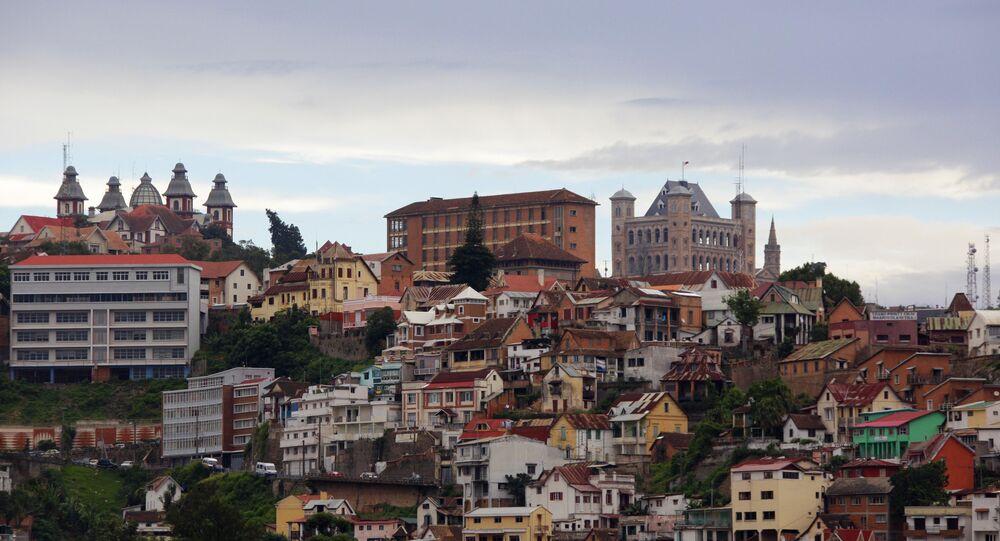 The capital of Madagascar, Antananarivo