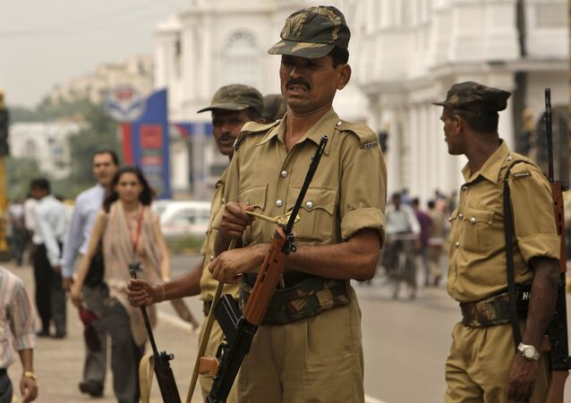 Indian police officers. (File)