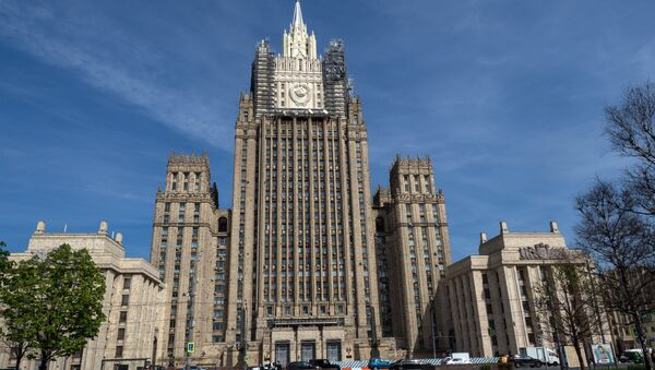 The Ministry of Foreign Affairs of the Russian Federation building in Moscow - Sputnik International