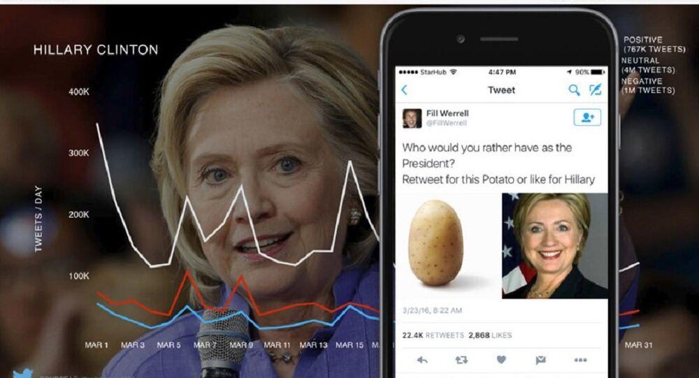 Twitter slide