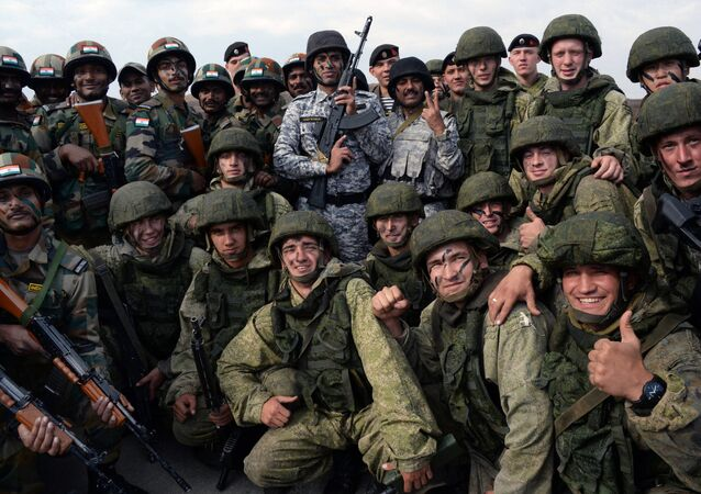 Indra 2017 Russian-Indian military exercise