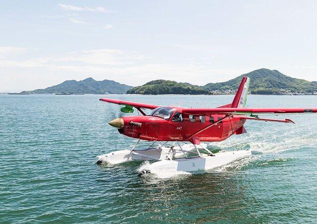 Amphibious Kodiak plane