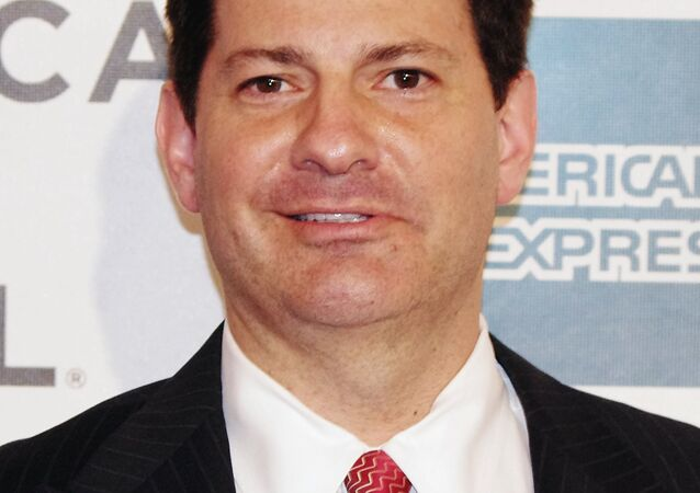 Mark Halperin at the 2012 Tribeca Film Festival premiere of Knife Fight. (File)