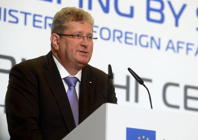 Association of European Businesses (AEB) chairman Tomas Staertzel