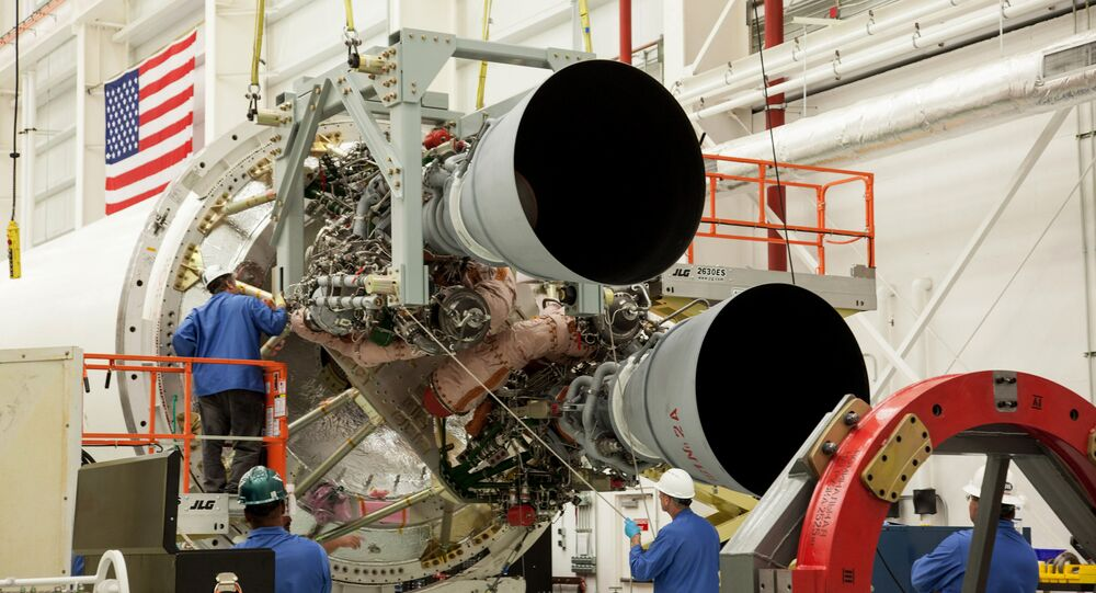 Two RD-181 Engines
